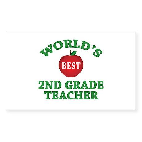 2nd Grade Teacher Rectangle Sticker 10 pk)