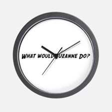 What would Suzanne do? Wall Clock