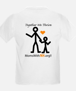 Moms With MS Transparent T-Shirt