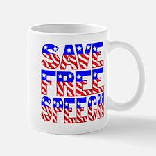 SAVE FREE SPEECH Mug