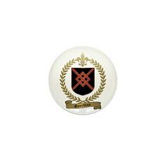 GOURDEAU Family Crest Mini Button (100 pack)