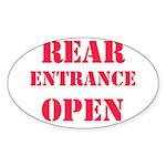 Ohio Grassman Oval Sticker (10 pk)