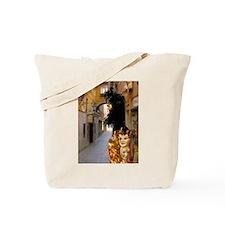Italy Tote Bag: <br> Venetian masks