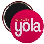 """Made with Yola"" Magnet"
