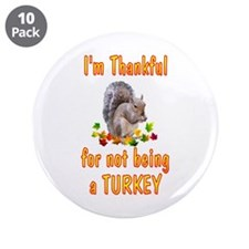 "Thanksgiving 3.5"" Button (10 pack)"