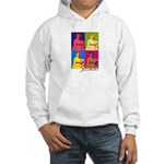 Jane Austen Pop Art Hooded Sweatshirt