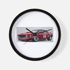 Unique Ford v8 Wall Clock