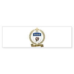 POULIOT Family Crest Bumper Sticker (10 pk)