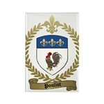 POULIOT Family Crest Rectangle Magnet