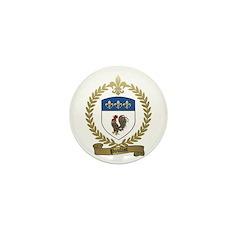 POULIOT Family Crest Mini Button (100 pack)