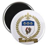 POULIOT Family Crest Magnet
