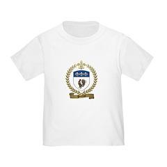 POULIOT Family Crest T