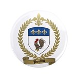 "POULIOT Family Crest 3.5"" Button"