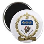 "POULIOT Family Crest 2.25"" Magnet (100 pack)"