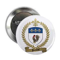 "POULIOT Family Crest 2.25"" Button (10 pack)"