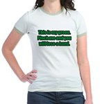 This is My Green. Jr. Ringer T-Shirt