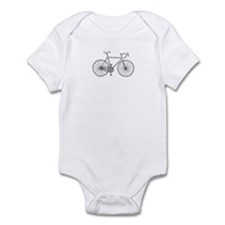 road bike Infant Bodysuit