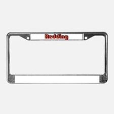 Redding, California License Plate Frame