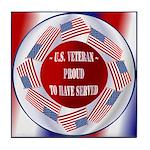 Veterans Tile Coaster