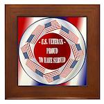 Veterans Framed Tile