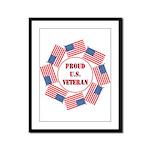 Veterans Framed Panel Print