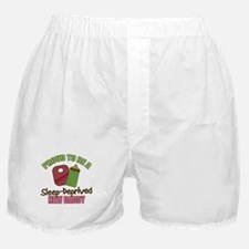 Sleep-Deprived Dad Boxer Shorts