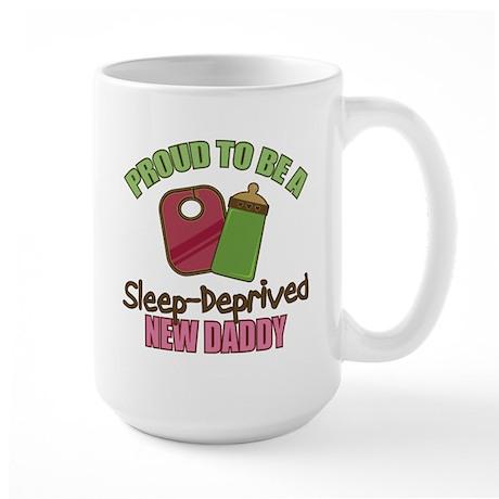 Sleep-Deprived Dad Large Mug