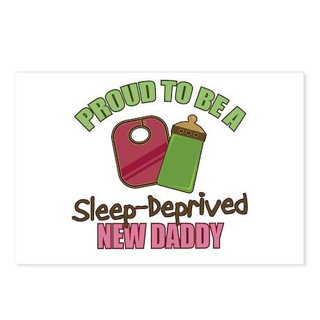 Sleep-Deprived Dad Postcards (Package of 8)