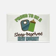 Sleep-Deprived Mom Rectangle Magnet