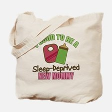 Sleep-Deprived Mom Tote Bag