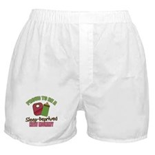 Sleep-Deprived Mom Boxer Shorts