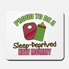 Sleep-Deprived Mom Mousepad