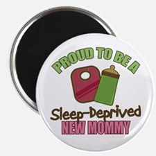 Sleep-Deprived Mom Magnet