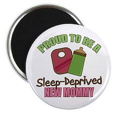 """Sleep-Deprived Mom 2.25"""" Magnet (10 pack)"""