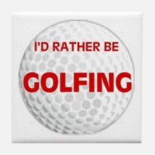 FORE ! Tile Coaster