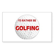 FORE ! Rectangle Decal