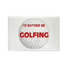 FORE ! Rectangle Magnet