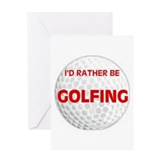 FORE ! Greeting Card