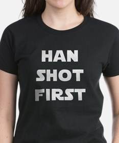 Han Shot First Tee