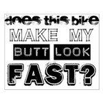 Does this Bike . . . Small Poster