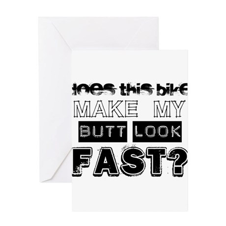 Does this Bike . . . Greeting Card