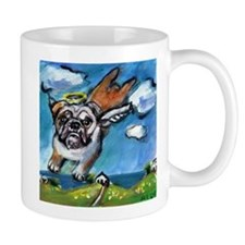 English Bulldog angel flys fr Mug