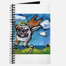 English Bulldog angel flys fr Journal