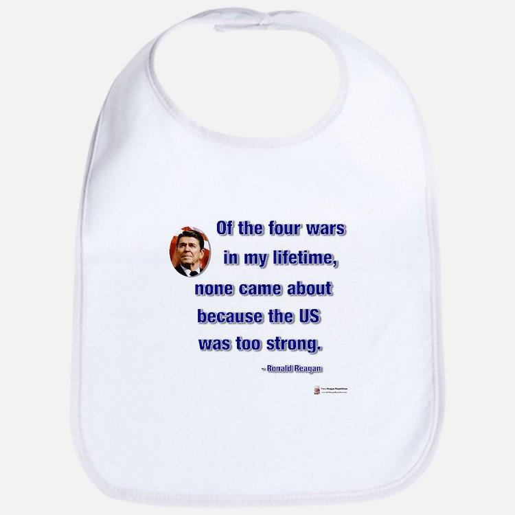 Reagan Wars Bib