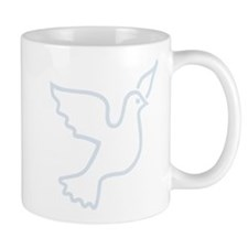 Peace Dove Blue Light Mug
