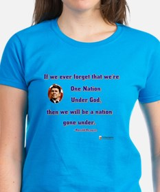 Reagan Nation Under God Tee