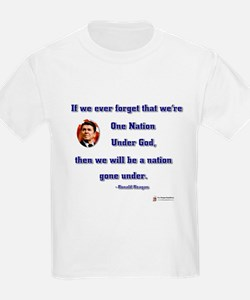 Reagan Nation Under God T-Shirt