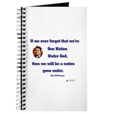 Reagan Nation Under God Journal