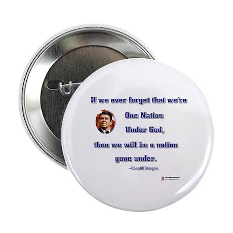 "Reagan Nation Under God 2.25"" Button (10 pack)"