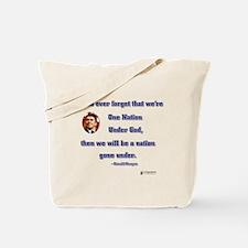 Reagan Nation Under God Tote Bag